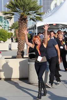 Kari Byron at Comic Con San Diego 2012