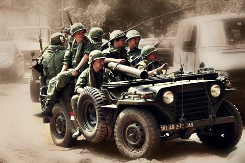 無料写真素材, 戦争, 軍用車両, 兵士