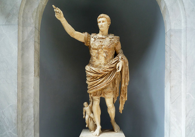 Augustus of Primaporta | Augustus of Primaporta, 1st ...