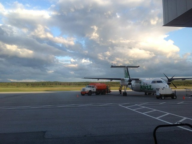 Epic Sky at Deer Lake Airport