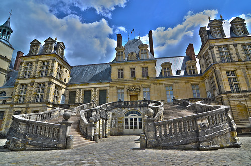 The Palace of Fontainebleau -- France