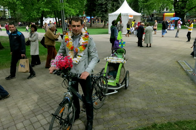 Riga Bicycle Flower Festival