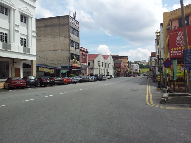 Quiet Seremban Town