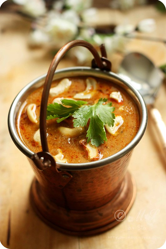 Learn how to make Kaju Masala Curry ~ Cashew Curry