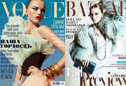 Anabela-Belikova-portada-Vogue-Harper's-Bazaar