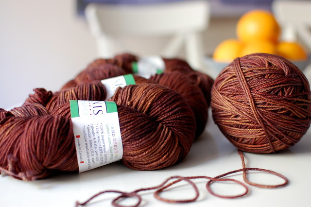 Tanis Fiber Arts Green Label- Chestnut