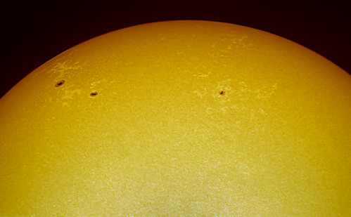 Sunspots 1527 to 1530 - 270712 by Mick Hyde