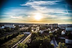 Dresden, Blick Richtung Hauptbahnhof