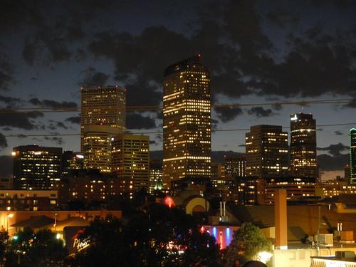 Denver at Night