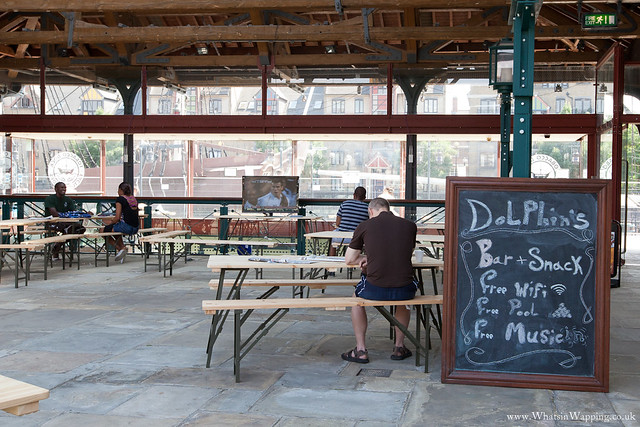 Tobacco Dock Olympic military camp - 25 July 2012
