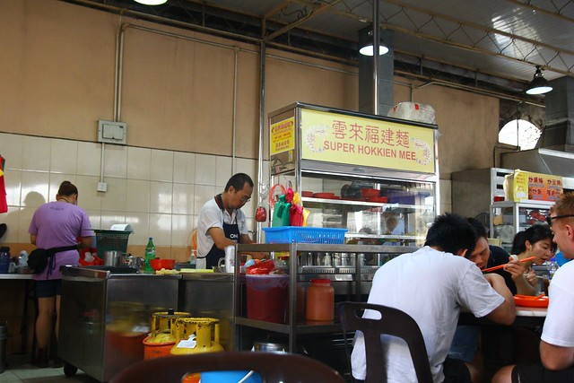 Famous Super Hokkien Mee Behind Penang Plaza