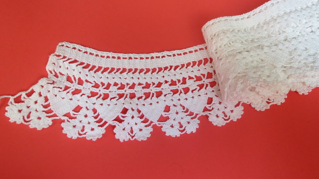 yards and yards of lace