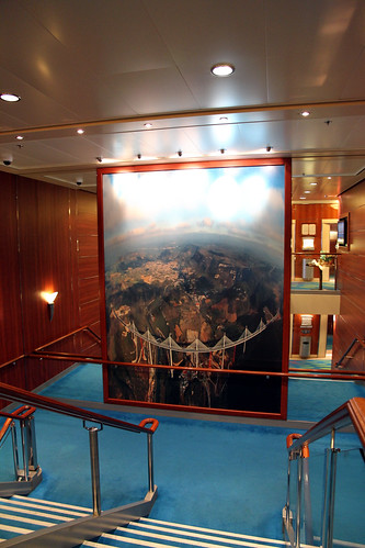 Norwegian Pearl - Another Stairwell Photo
