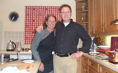 Carole Waugh and brother