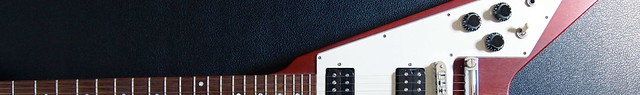 Photo:Gibson Flying V Cherry By kohrogi34