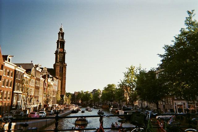 prinsengracht, westerkerk, amsterdam