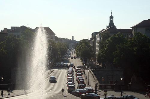 Untere Prinzregentstraße - Sichtachse