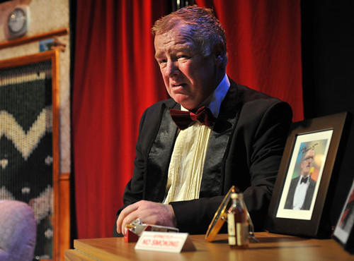 Les Dennis as Jigsy in the Edinburgh Fringe production at the Assembly Rooms.