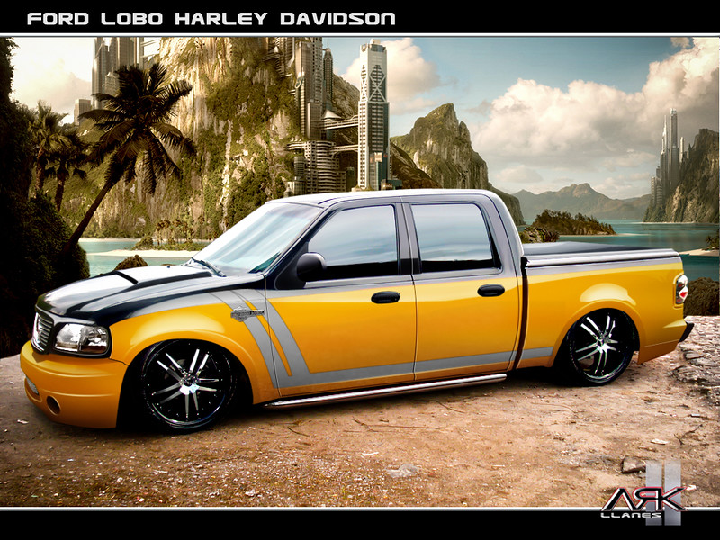 73_Wallpaper Ford Lobo Harley Davidson tuning by ARK-Llanes ...