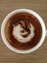 Today's latte, Firefox.