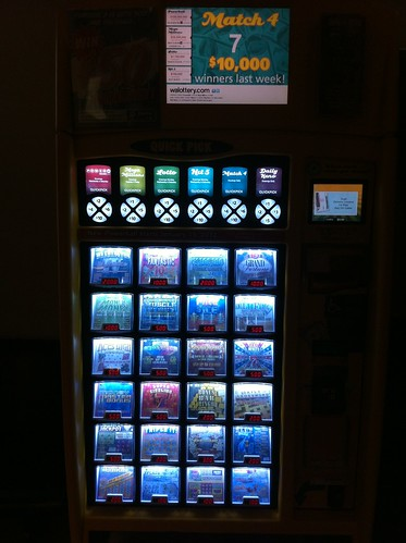 Seattle Amtrak - Scratchie Vending Machine