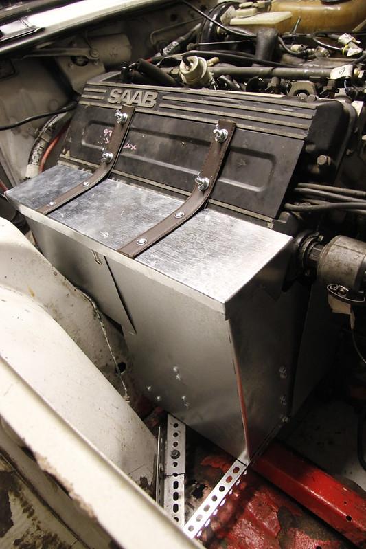Engine Manifold Cooking