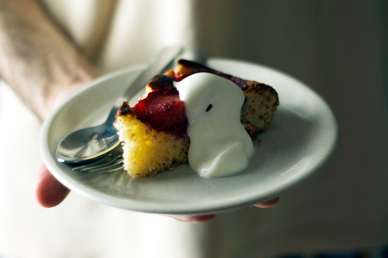 Bolo de ameixas // Plum Cake
