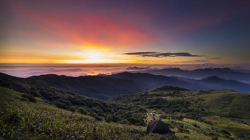 sky sunrise canon landscape hongkong afterglow blackcard 5dmarkiii