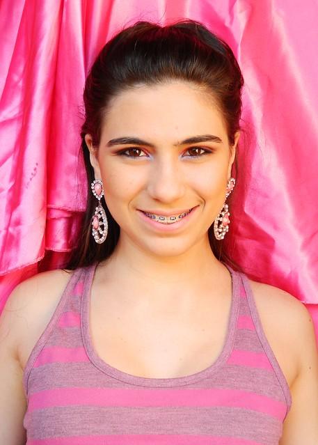 juliana leite penteado de princesa pink trança embutida espinha de peixe1