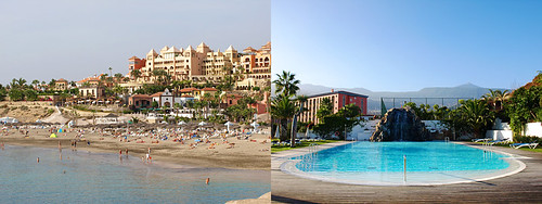 Hotels in South and North Tenerife
