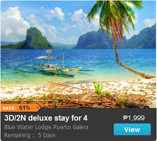 3D/2N Blue Water Lodge Puerto Galera Promo