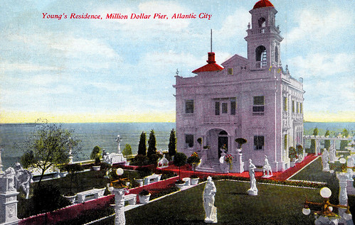 Young's Residence, Million Dollar Pier, Atlantic City, New Jersey, 1909