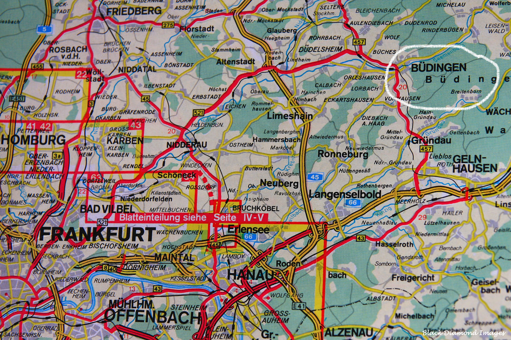 Büdingen Map   South Hesse, Germany   Mapcarta