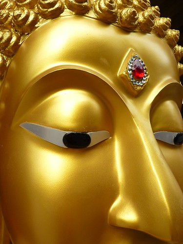 Buddha detail shot