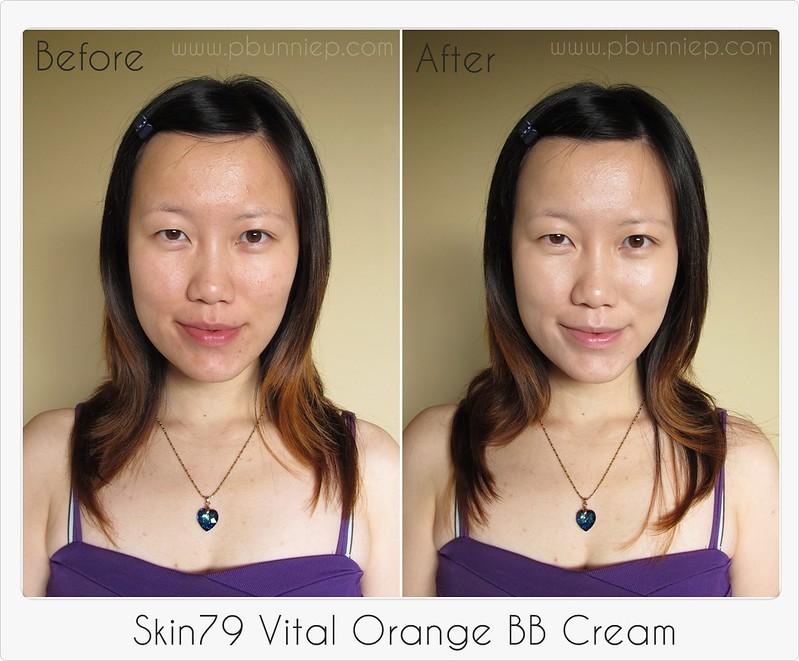 Skin79 Vital Orange BB Cream-Swatch2