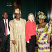 Ministers of the Federal Republic of Nigeria pose with SecClinton