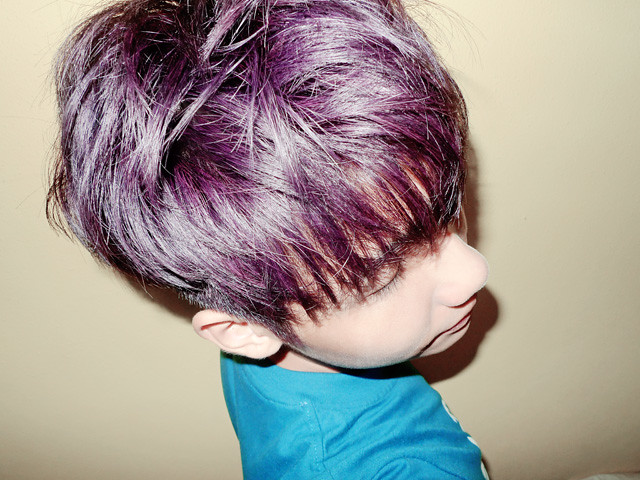 typicalben in mauve purple hair colour
