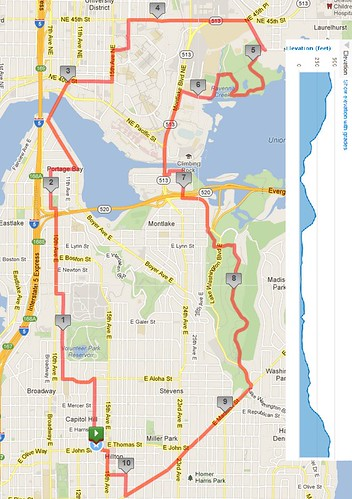Today's awesome walk, 10.39 miles in 3:06 by christopher575