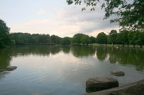 Am westlichen See - Westpark