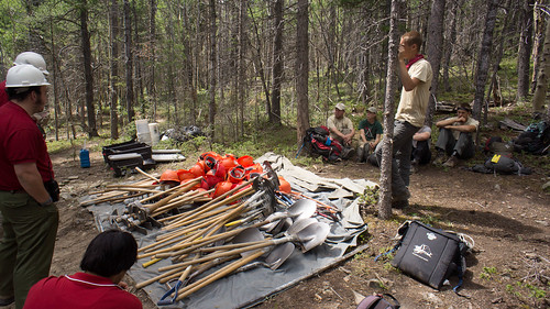 Conservation project at Baldy Town