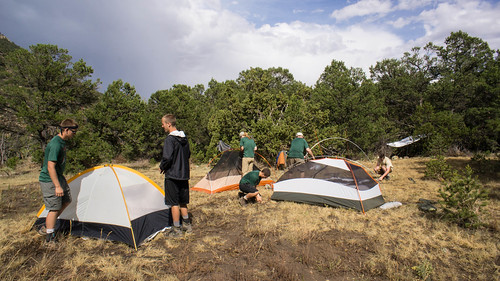 Dean Heck meadow and campsite
