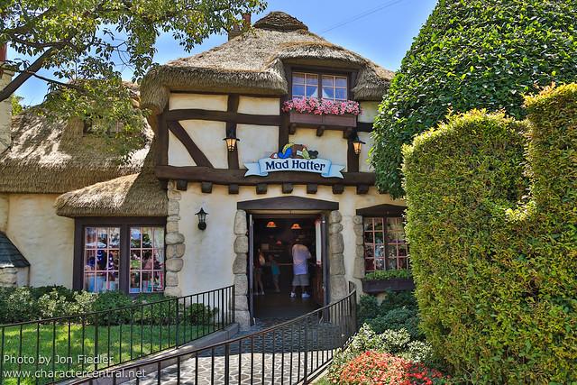 Disneyland July 2012 - Wandering through Fantasyland