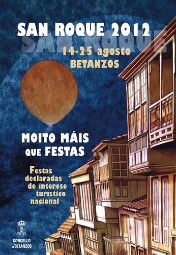 Betanzos 2012 - Festas patronais - cartel
