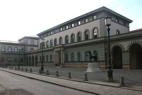Bayrisches Hauptstaatsarchiv - Schönfeldstraße