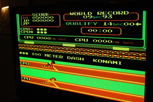 Konami Track & Field 100 Meter Dash (NES)