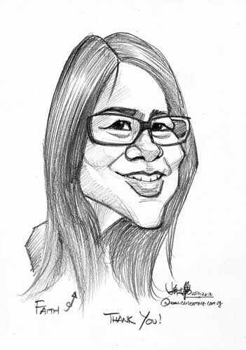 caricature in pencil - 1