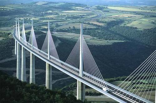 Millau Bridge (Tarn Valley, France)bridges