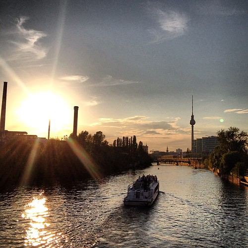 Berlin sunset