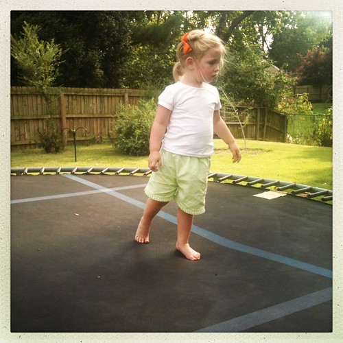 cora on the trampoline by Jacks mom