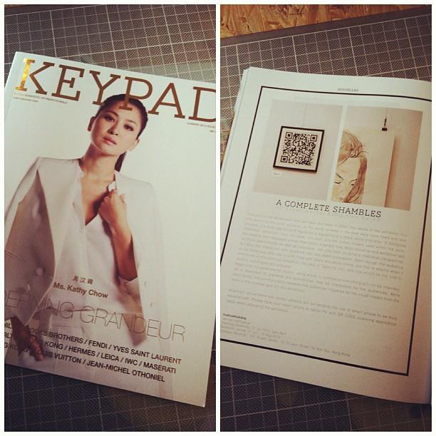 《A COMPLETE SHAMBLES》on KEYPAD magazine.